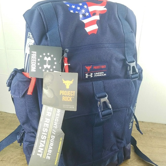 a0b69fbf9d8 Under Armour Other | Freedom Project The Rock Backpack | Poshmark
